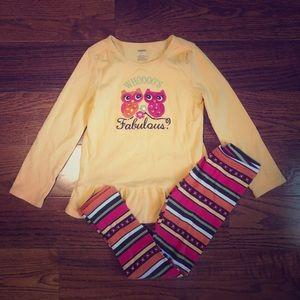 NWT Gymboree Girl Outfit Mix/'n/'Match Blue Cupcake Tee //Grey Leggings 5 6